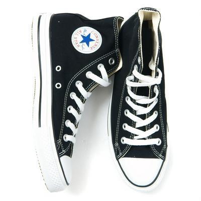 black converse all stars high tops