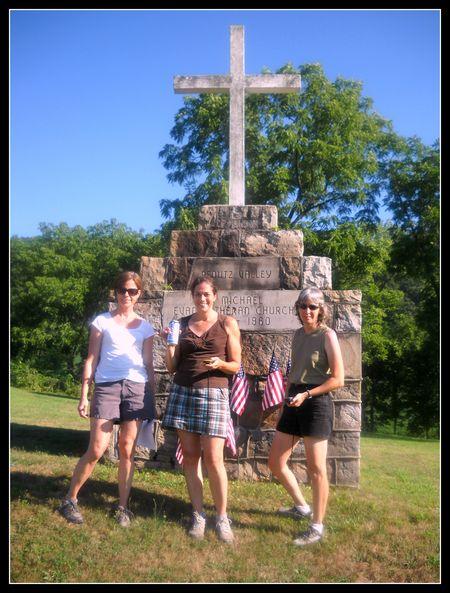 Geocachers at St Michaels